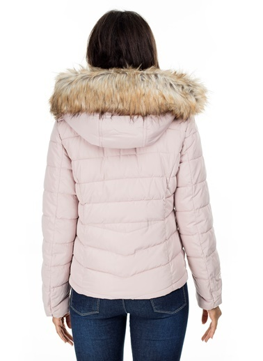 Only Only Newellan Quilted Fur Hood Mont Pembe